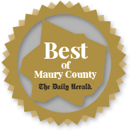 Best of Maury County logo