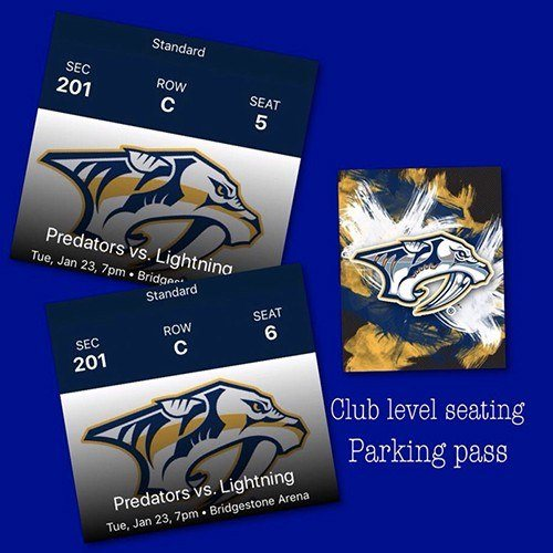 Predators tickets