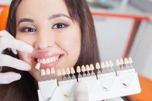 Dental implants make teeth brighter.